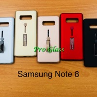 C204 Samsung Note 8 Personality i-ring Case + Stand Holder Matte Case