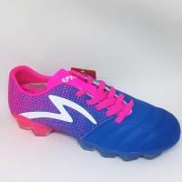 Sepatu bola specs original Equinox FG tulip blue pink new 2018