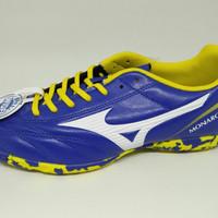Sepatu futsal mizuno original Monarcida 2 FS IN biru kuning new 2017