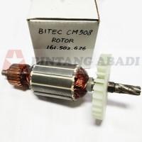 Bitec Armature / Rotor / Angker CM 508 Mesin Gergaji Circular Saw Red