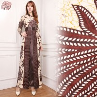 SB Collection Gamis Maxi Dress Karly Longdress Terusan Batik Wanita