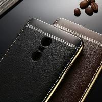 Xiaomi Redmi Note 3 4 4X Mi5 TPU Luxury Leather Style Soft Backcase