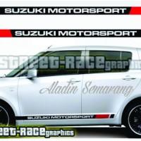sticker mobil suzuki motor sport stripe list mobil suzuki sport