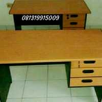 meja kerja kantor uk 120x60x75 baru