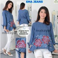 Baju Atasan Wanita Muslim Blouse Ema Jeans
