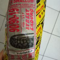 Ban Swallow 90 per 90-19 SB117 Tubeless Semi Trail