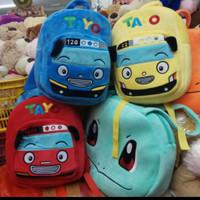 tas ransel boneka tayo untuk tk sekolah anak kids baby