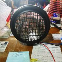 Lampu depan reflektor cb jap style klasik willwood