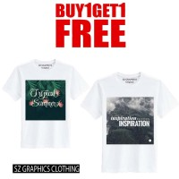 sz graphics t shirt pria kaos pria tropical inspiration buy 1 get 1