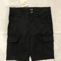 H&M Orginal Brand Cargo Short Black - Celana Pendek Anak Laki-Laki