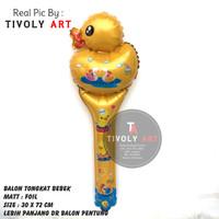 Balon Foil TONGKAT BEBEK / Balon Pentung / Balon Karakter