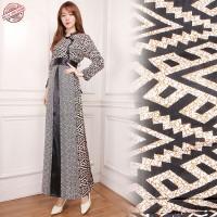 anandita gamis batik maxi dress busana muslim wanita