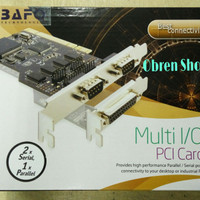 BAFO PCI Card Serial + Parallel Chipset Asix
