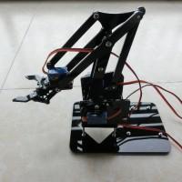 Arm Robot Rangka Robot Lengan for Arduino - Hitam
