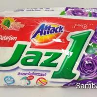 Detergen / Deterjen Attack Jazz one 1 Renteng isi 6 Sachet