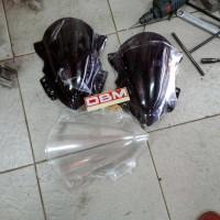 Winshield winsil Kaca fairing Visor tameng Ninja 250 SL RR Mono