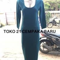 Dress Forever 21 Woman - GREEN size L / LARGE Baju Gaun Wanita Branded