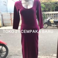 Dress Forever 21 Woman - MAGENTA size M / MEDIUM | Baju Panjang WANITA