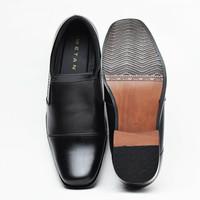 Sepatu Pantofel Kerja Pria Kulit Big Size 44,45,46,47&48
