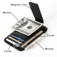 Dompet Money CLip,Penjepit Uang,Dompet Kulit Asli,Candy