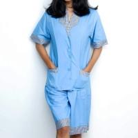 Baju Setelan Seragam Suster | Babysitter Perawat Celana Pendek Obral