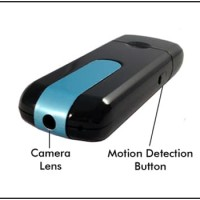 Spy Cam U8 Mini USB DVR / Kamera Pengintai / Spycam Hidden Camera U-8
