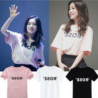 Kaos/T-Shirt Rose BlackPink