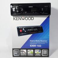 Singledin Kenwood KMM 103 Radio USB WMA FLAC Tape Headunit Audio Mobil