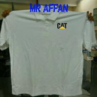 polo shirt XXXXL/4XL kaos kerah tshirt Jumbo Caterpillar