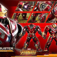 HOT TOYS POWER POSE HULKBUSTER IRON MAN 1/6 HT AVENGERS INFINITY WAR