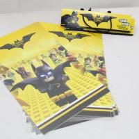 Plastik snack Batman Lego / plastik bingkisan Batman lego