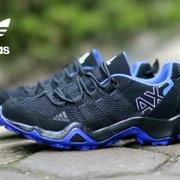 SEPATU SNEAKERS PRIA ADIDAS AX2 LOW BLACK BLUE