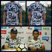 Baju Kaos Pemain Arema FC Aremania baru 2018 murah bahan katun combed