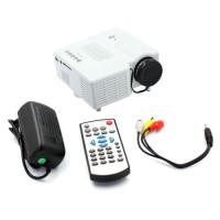 UNIC UC 28 Plus Uc28 + Mini Proyektor Portable Uc28+ Projector - Hitam