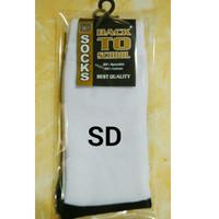 Kaos kaki sekolah ( SD ) hitam putih