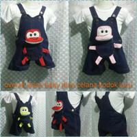 BAJU WANITA DRESS WANITA Baby jumper dino jeans bayi lucu dress