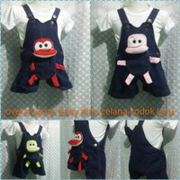 DRESS WANITA BAJU MURAH Baby jumper dino jeans bayi lucu dress with