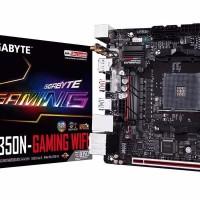 GIGABYTE GA AB350N Gaming WIFI AMD B350 AM4 DDR4 Mini ITX Motherboar