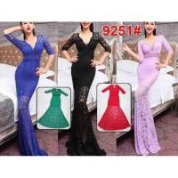 Long Dress 9251 / Dress Pesta / Dress Sexy / Baju Pesta / Baju Nyanyi