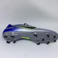 Sepatu Bola Nike Original Mercurial Victory Njr Neymar Fg Silver Biru