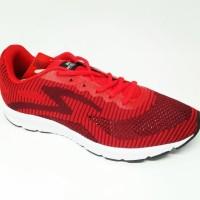 Sepatu Running Specs Overdrive Red Original New 2018