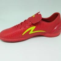 Sepatu Futsal Specs Original Accelerator Exocet In Dark Red/Zest Green