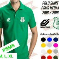 (Sepak Bola & Futsal) Polo Shirt PSMS medan Official 2018 2019