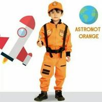 BAJU PROFESI ANAK ASTRONOT ORANGE LAKI 2 / KOSTUM ASTRONOT ORANGE 650