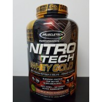 Muscletech Nitrotech Whey Gold 5,5 lbs Nitro Tech 5.5 lb 5,5lb 5,5lbs