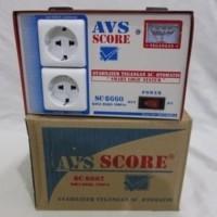 AVS Score SC-8662 Stabilizer 1000W 220V Tegangan AC Otomatis 165-250V