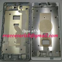 FRAME LCD DUDUKAN LCD TULANG TENGAH OPPO A51/A51W MIRROR 5