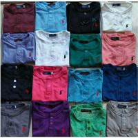 Atasan Kaos Polo shirt Polos Anak laki laki cowok perempuan tanpa kera