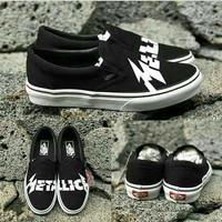 Sepatu Vans Metallica Slip On Premium
