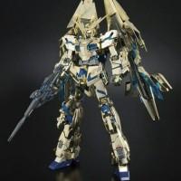Bandai MG 1/100 Gundam Unicorn Phenex gold plated